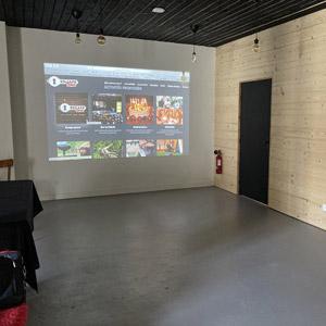 Salle de réunion à Voiron