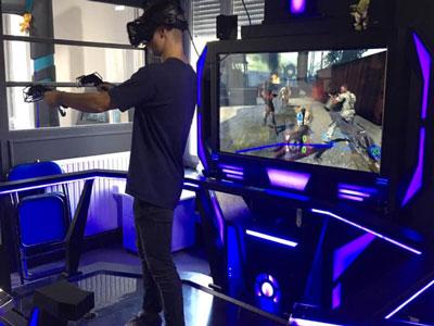La salle de jeux en réalité virtuelle de Voiron